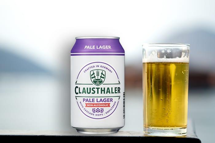 Alkoholfritt øl fra Clausthaler får du i flere forskjellige varianter, blant annet Pale Lager.