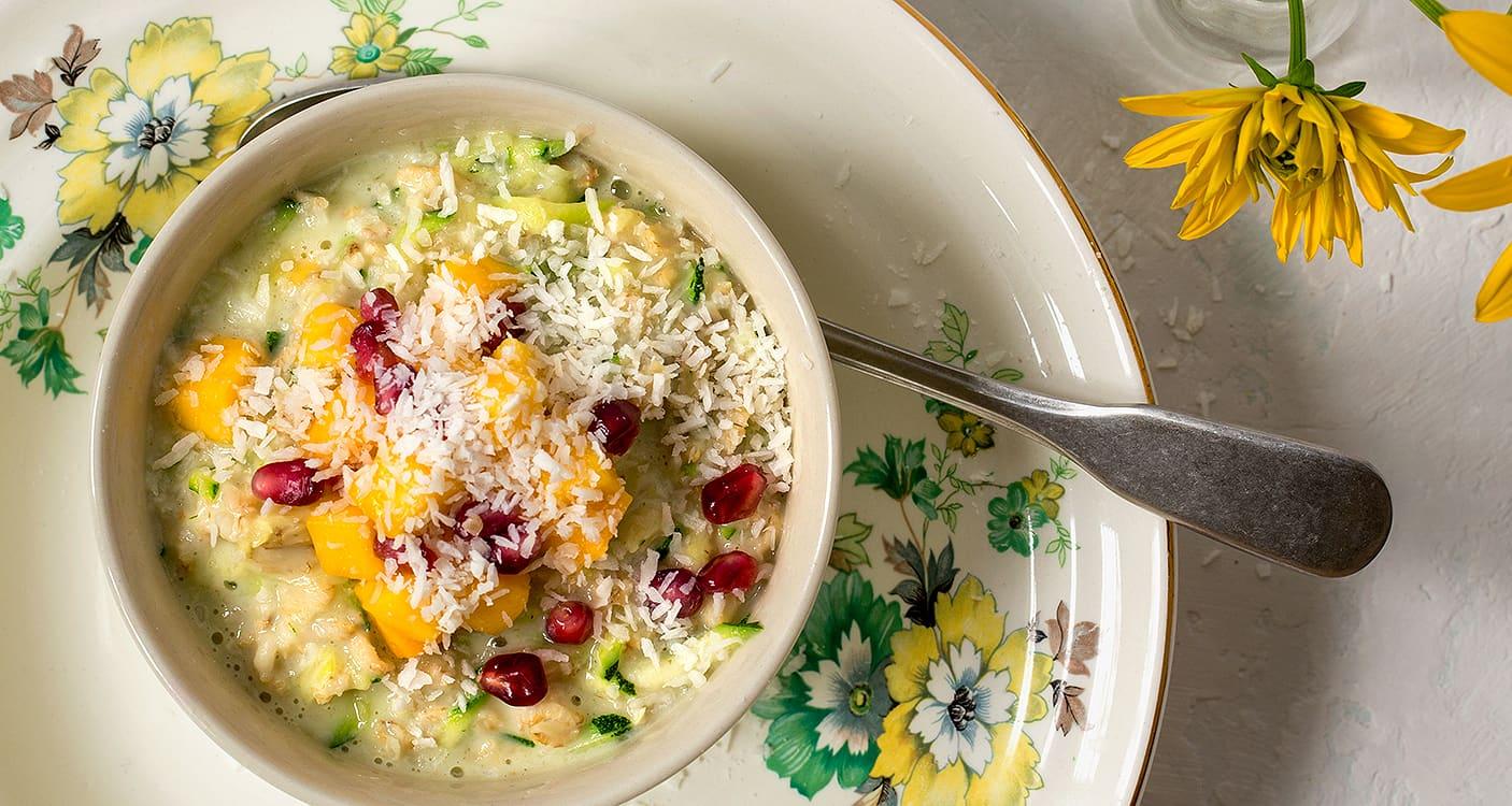 Prøv zoats, en annerledes og sunn frokostvariant.