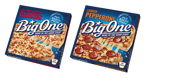 BigOne Classic og BigOne Pepperoni relanseres.