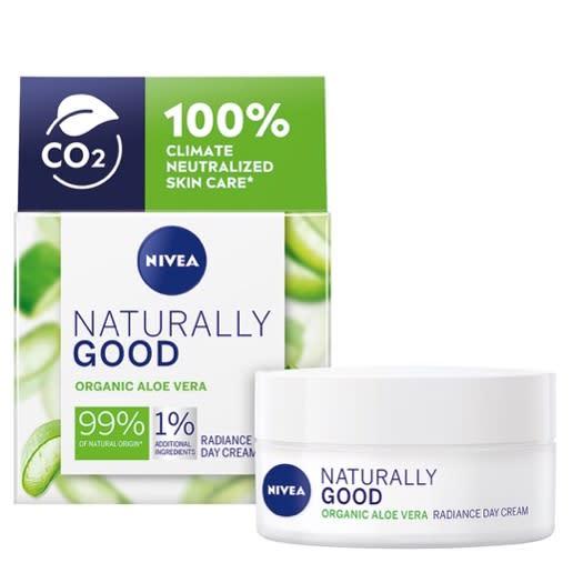 Dagkremen fra Nivea Naturally Good finner du i alle våre KIWI-butikker.