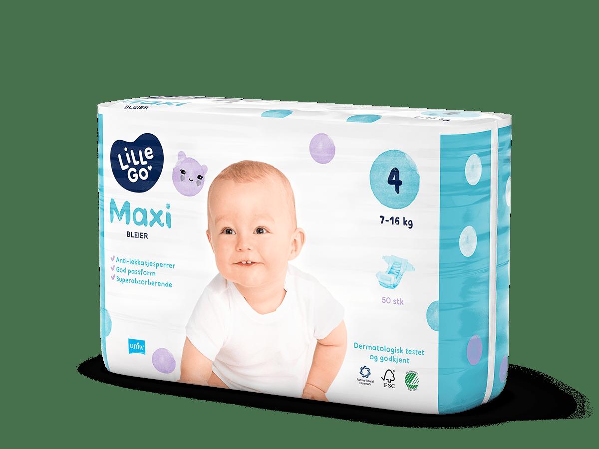 LilleGo´ Bleier maxi, str 4 7-16 kg