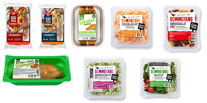Middag for én og salat for flere. Valgmulighetene er mange!
