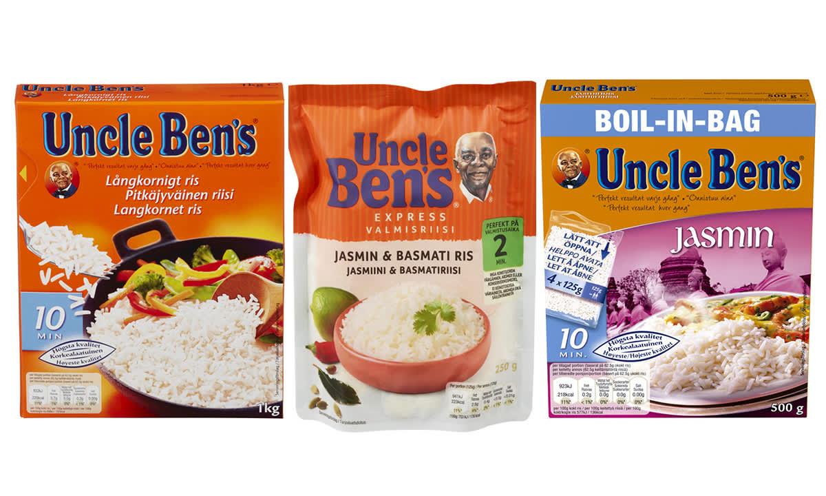 Hva er forskjellen påbasmatiris, jasminrisog langkornet ris?
