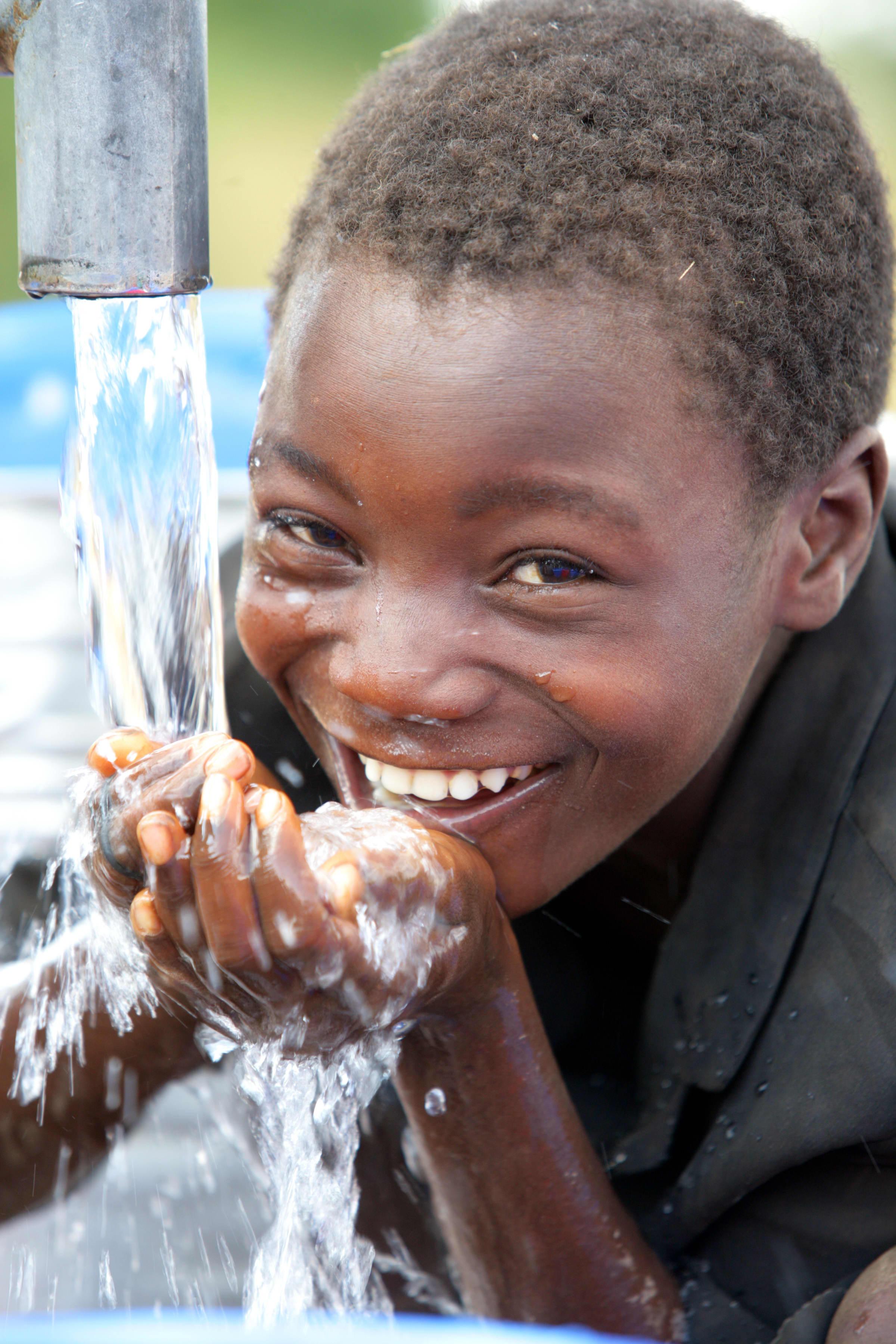50 kroner kan rense 6000 liter vann. Foto: UNICEF/Pirozzi