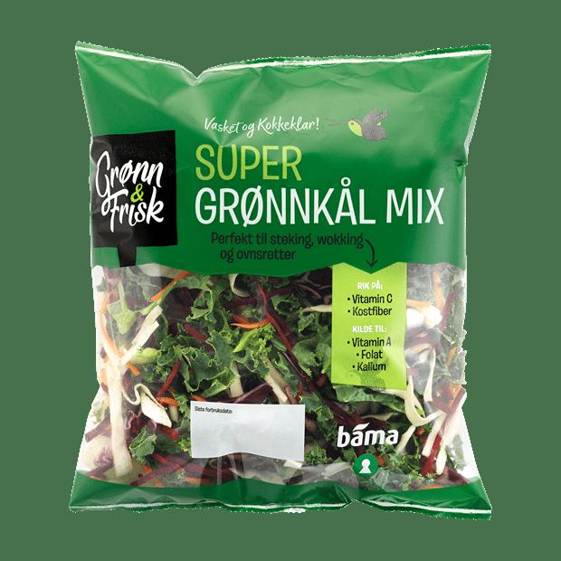 Grønn & Frisk grønnkålmix