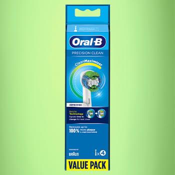 Precision Clean Refill fra Oral-B finner du nå i de fleste KIWI-butikker.