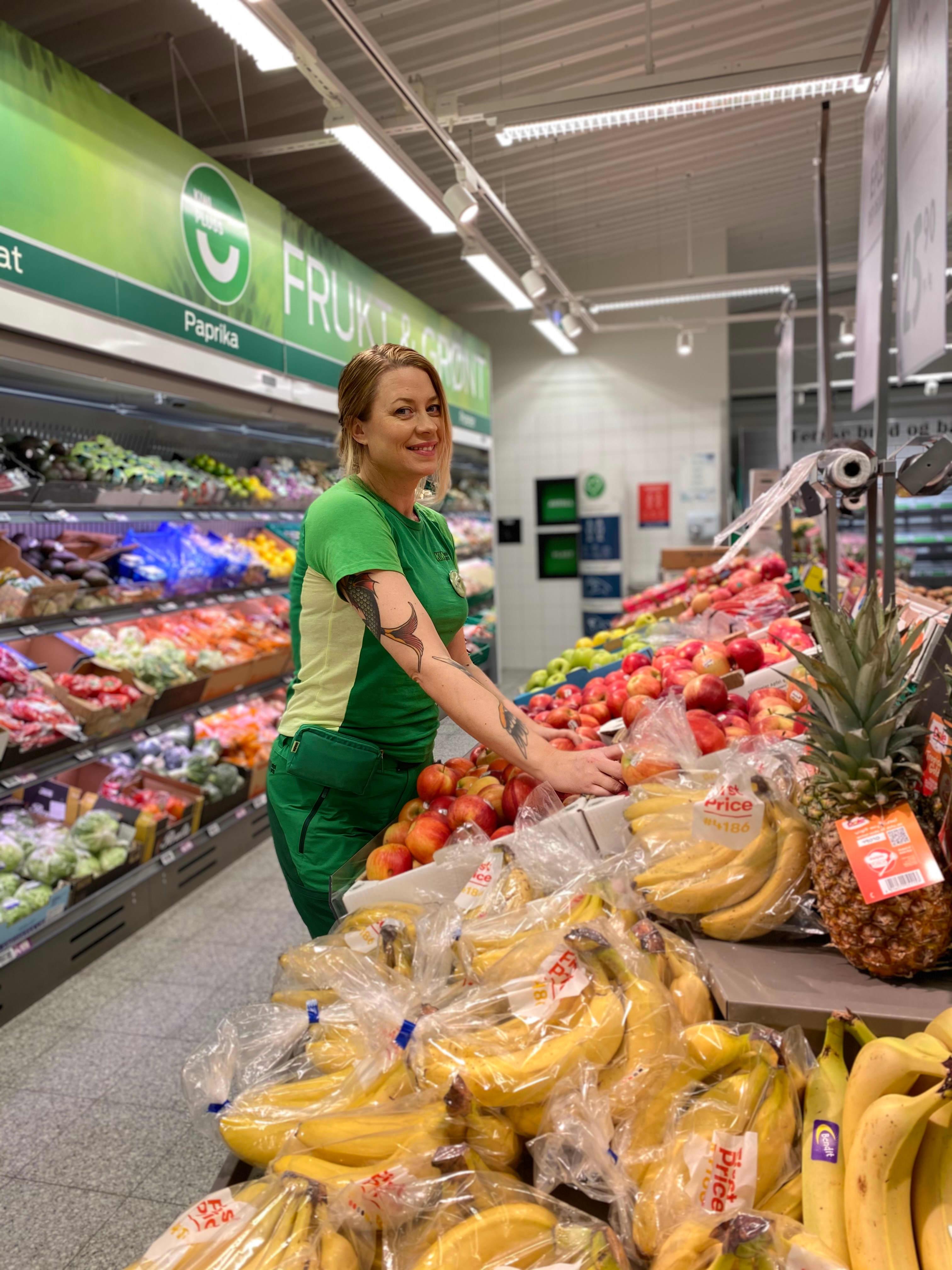 Mette Mari Leseth på KIWI Bjugn ble valgt ut til å være butikksjefenes representant i KK.