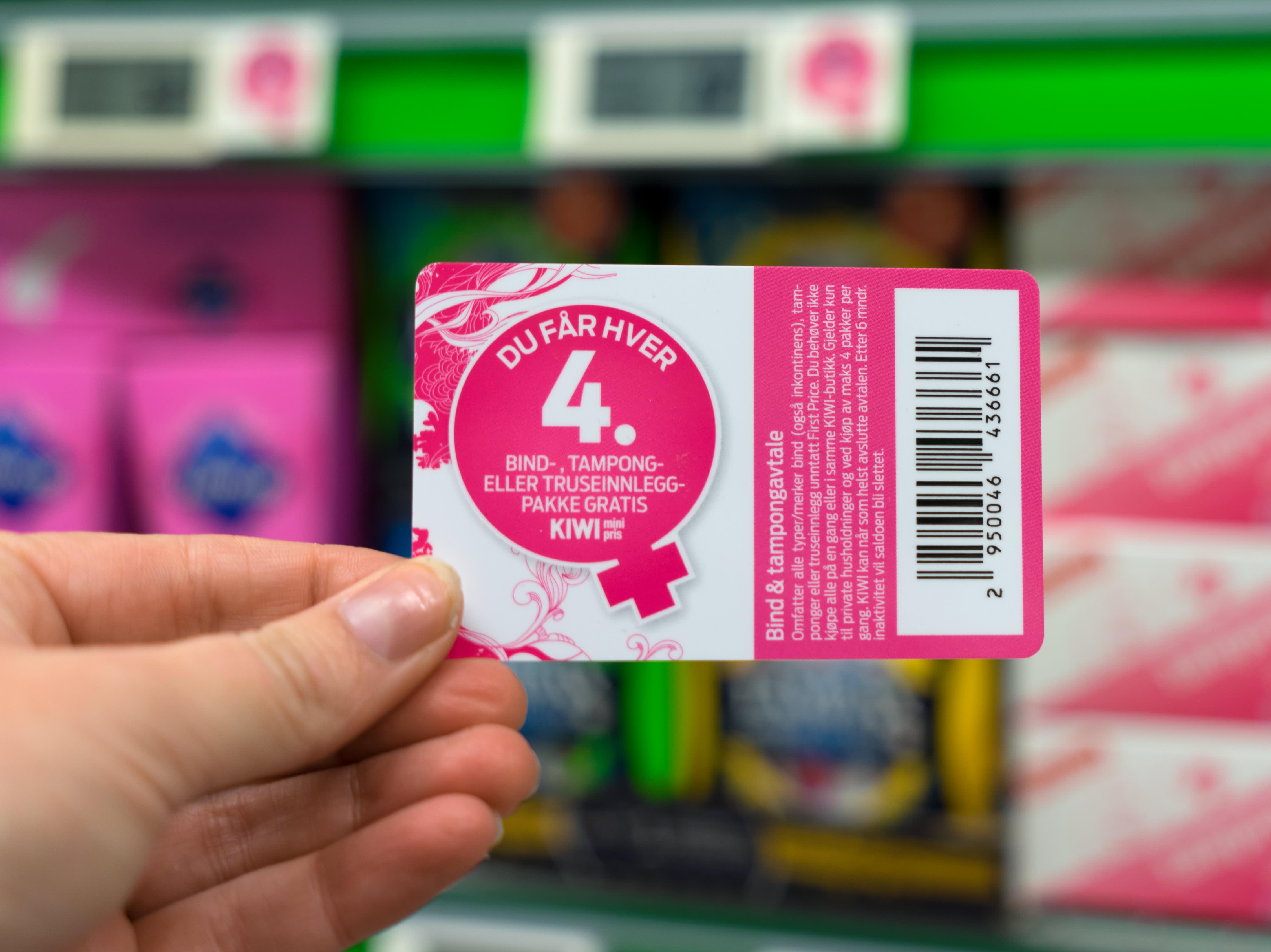 Spør etter B & T-kortet i kassa, neste gang du handler.