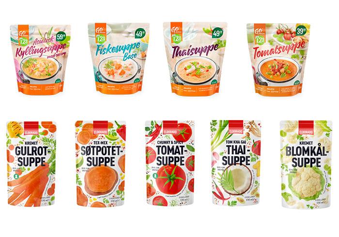 Disse ferdigsuppene fra KIWI er både sunne og gode alternativer til supper du lager selv fra bunnen av. Thaisuppe fra Eldorado finnes i utvalgte butikker, resten kan kjøpes i alle KIWI-butikker.