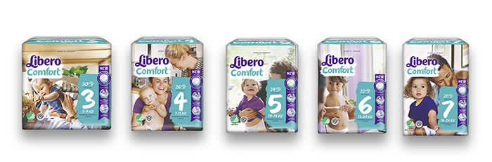 Libero Comfort er Liberos mest solgte bleie.