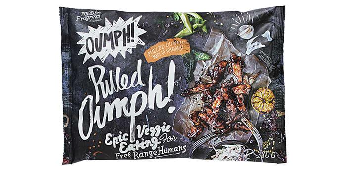 Pulled Oumph!: Denne minner om kjøttprodukter som «pulled pork», bortsett fra at det ikke er laget av kjøtt, men bønner. Du får denne ferdig marinert i økologisk BBQ-saus.