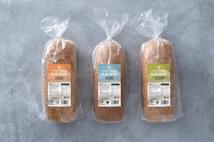 Bakehuset halvstekte formloff, grovbrød og flerkornsbrød selges kun hos KIWI.