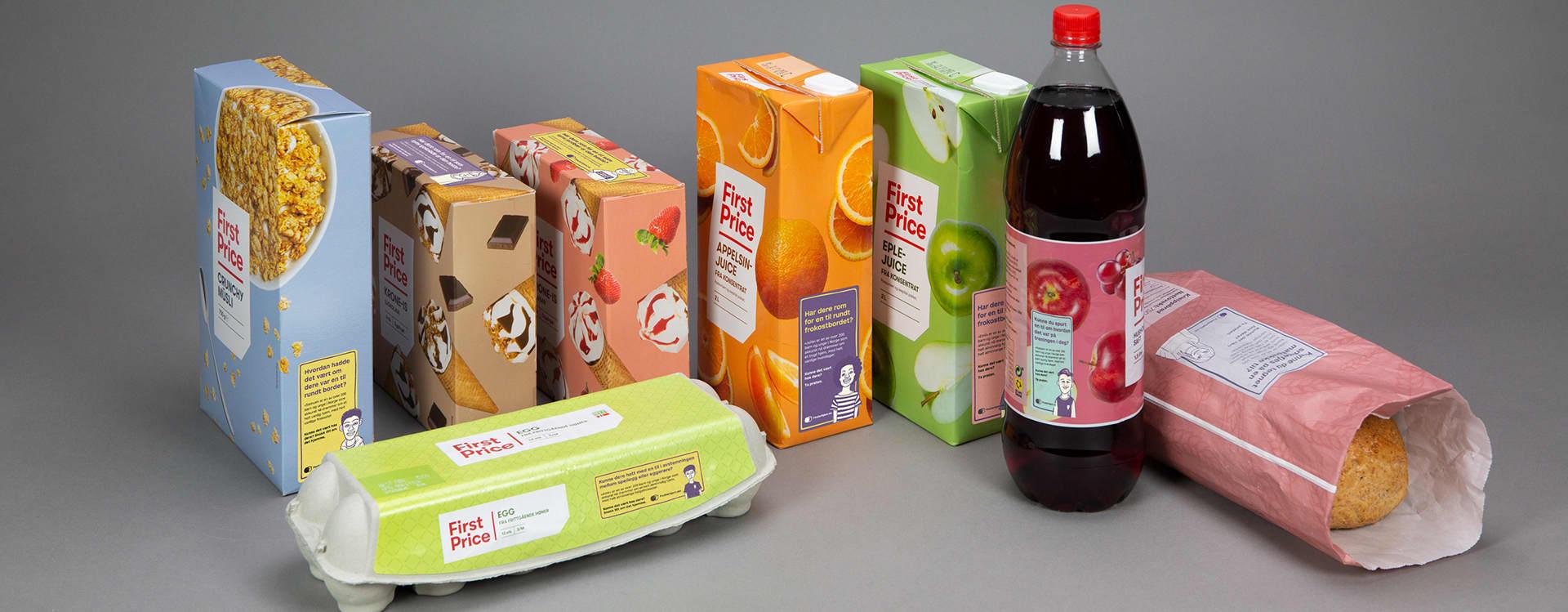 First Price produkter med fosterhjem-informasjon