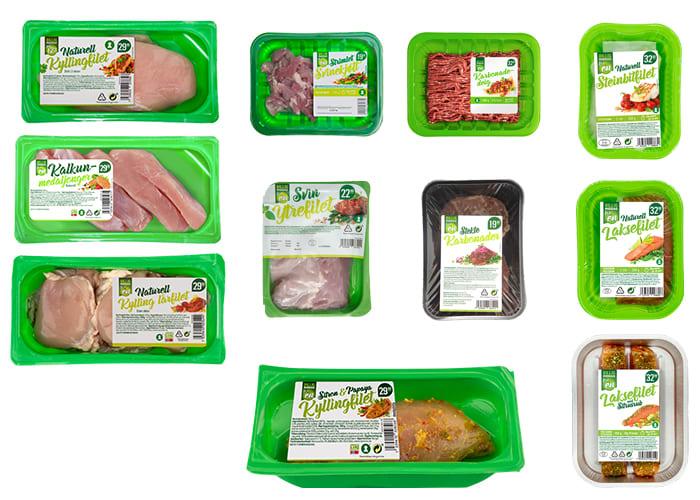 Billig middag for én-produktene finner du i alle KIWI-butikker.