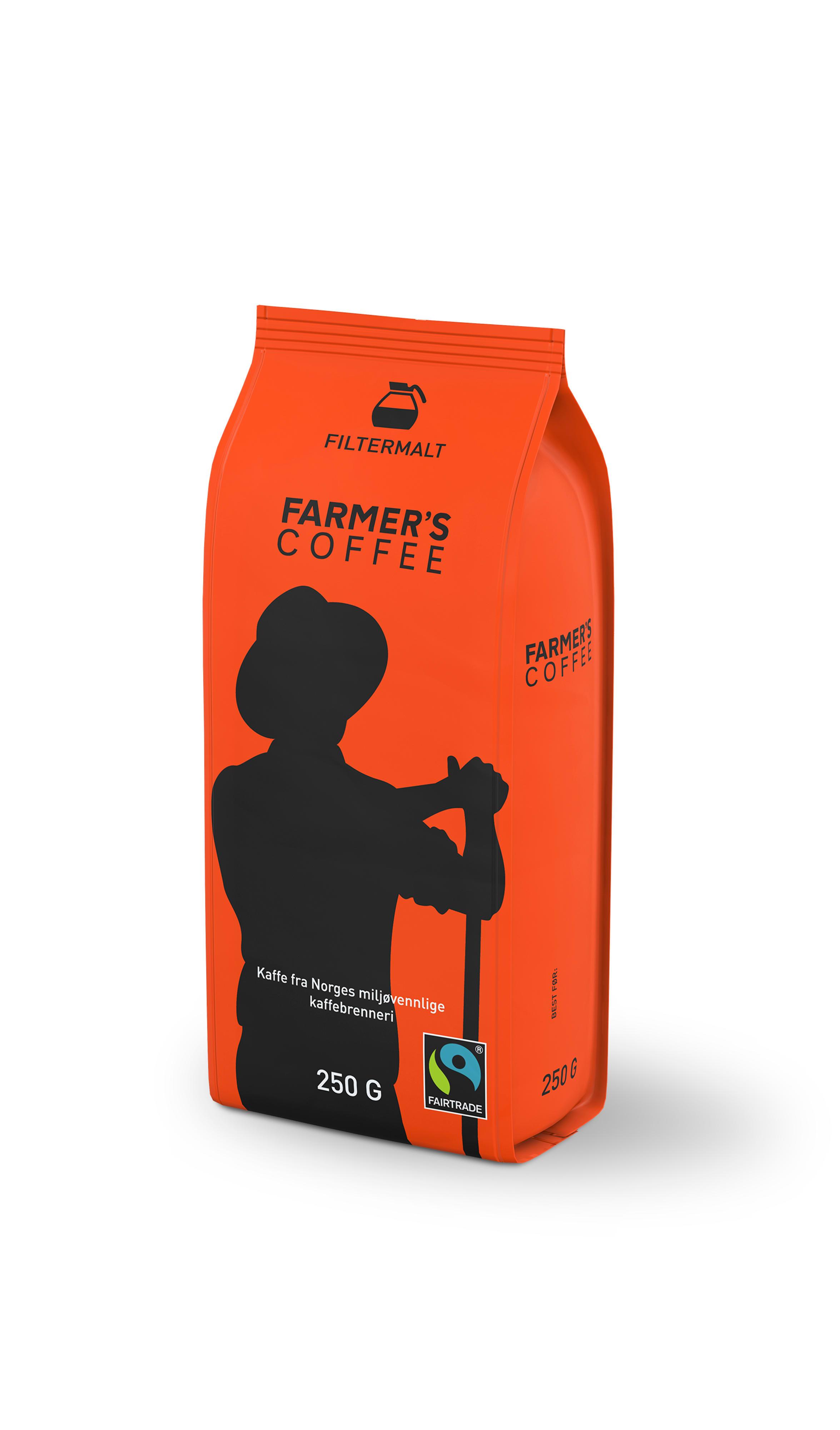 Du får kjøpt Farmer's Coffee hos KIWI.