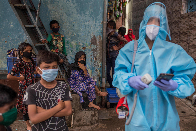 UNICEF har til nå sendt diverse livreddende forsyninger til India.