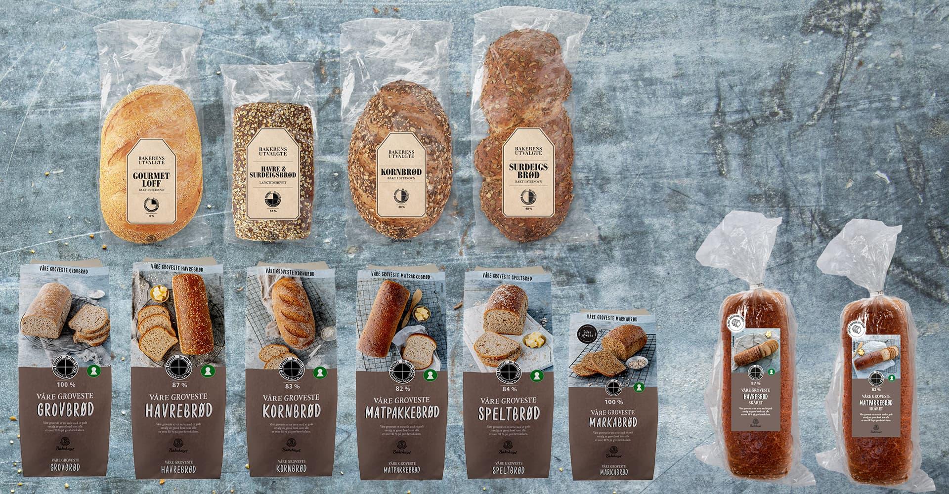 Bakerens utvalgte og Våre groveste brød er nyheter med smaksgaranti i alle KIWIs butikker. Våre groveste Matpakkebrød og Havrebrød kommer også ferdig skåret.