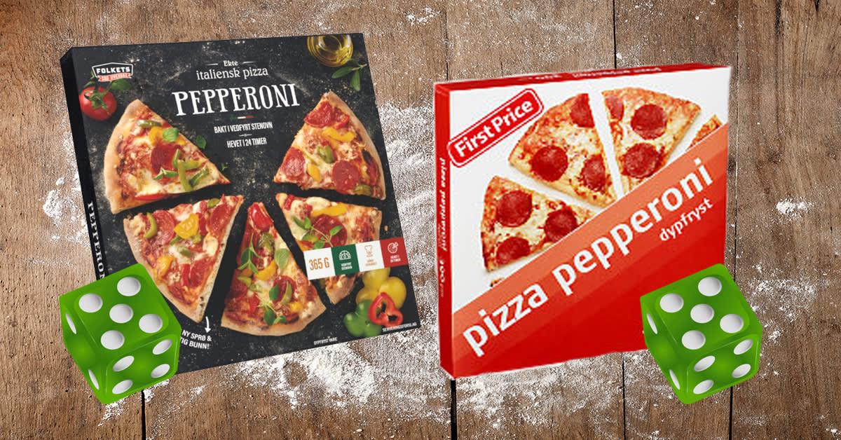 Folkets pepperoni og First Price pizza pepperoni er best i test i fersk ernæringstest.
