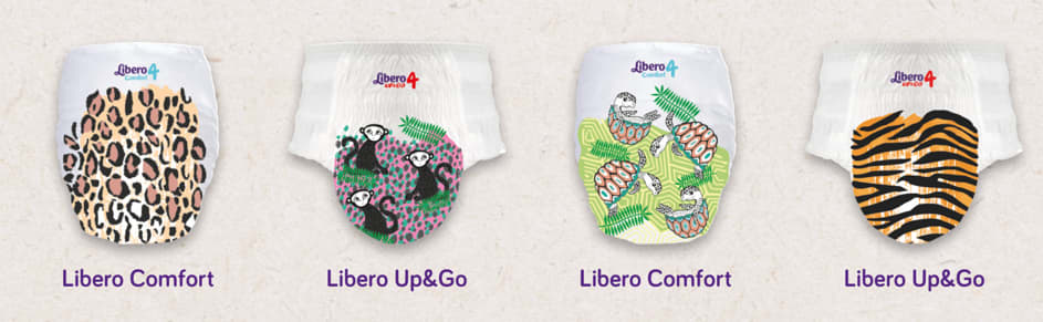 Libero Limited Edition bleiene har et morsomt design med inspirasjon fra jungelen.