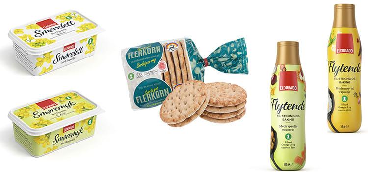 BRØD OG SMØR: Nå får du flerkorns-polarbrød og nye smør-varianter.