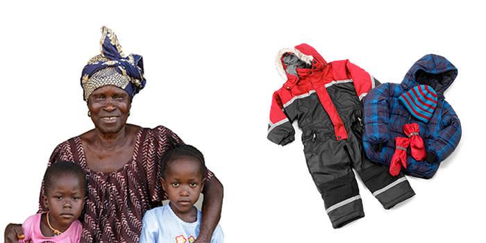 Noen gaver betyr mer enn andre. For 338 kr gir du en bestemor mulighet til å forsørge barn i to måneder. For 368 kr gir du varme vinterklær til syriske barn.