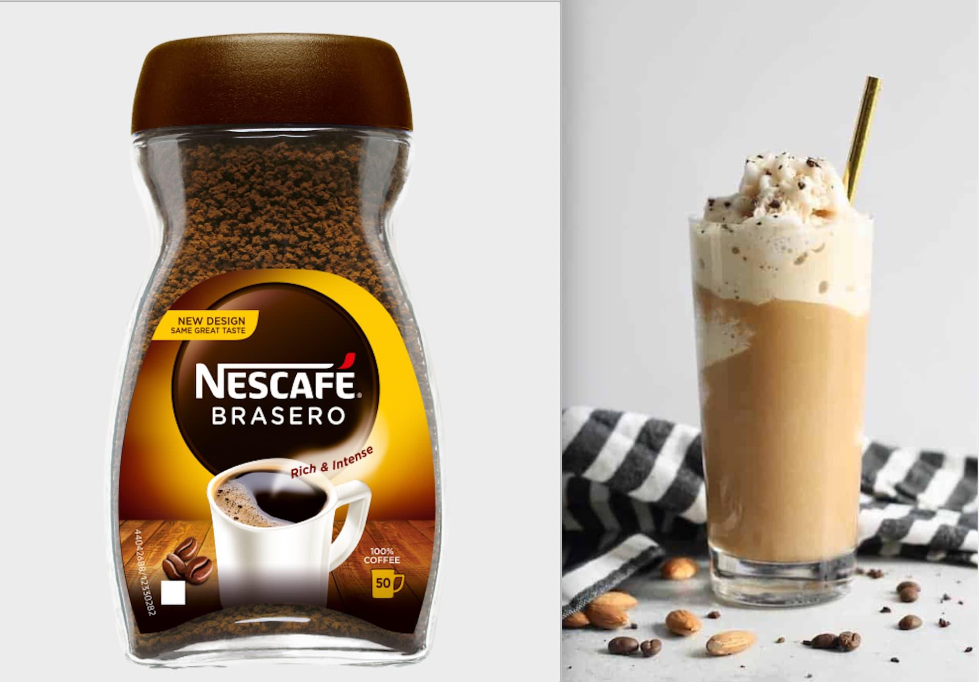 Har du lyst på noe ekstra godt? Da er frappuccino iskaffen for deg.