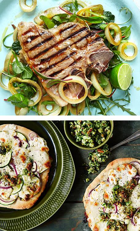 T-bone steak eller pizza?
