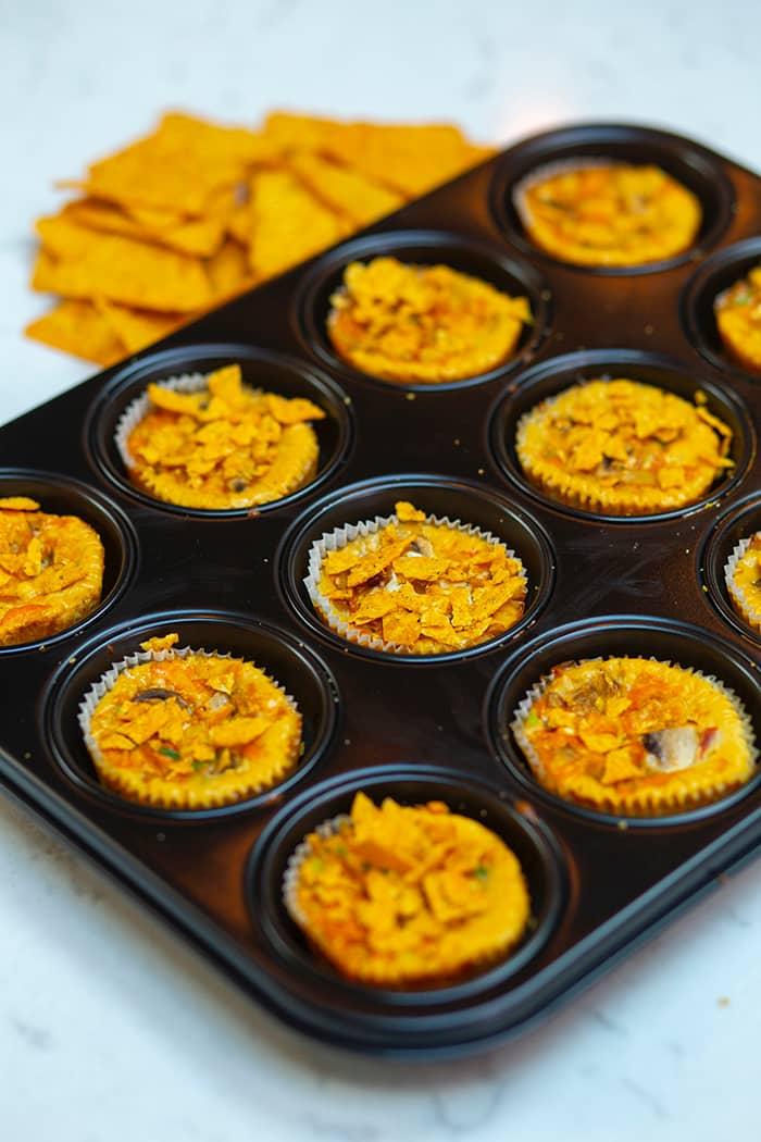 Smakfulle restemuffins