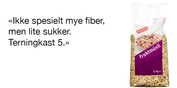 FirstPrice Fruktmüsli