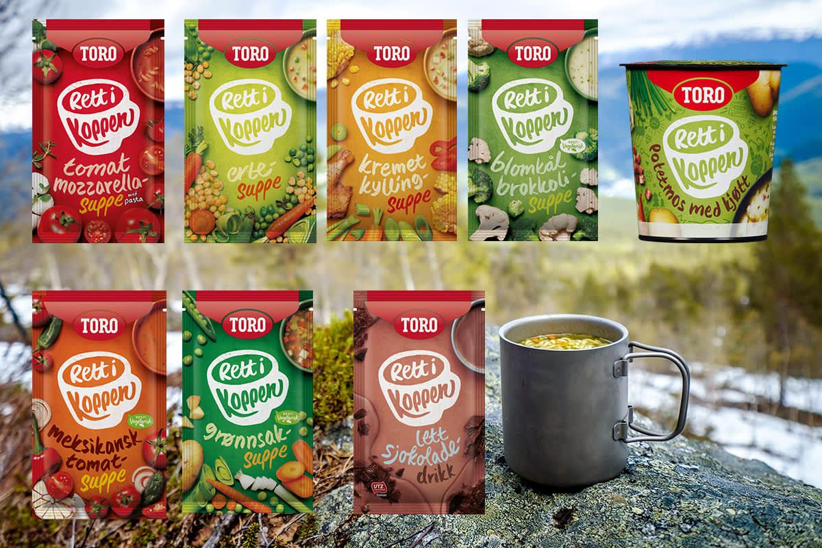 TORO Rett i koppen har vært blant nordmenns favoritter i over 30 år. Nå har de kommet i ny og forbedret utgave.