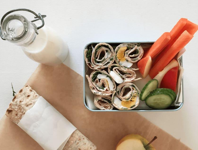 Matpakkeruller gjør matpakka enda mer spennende! Foto: Kavli