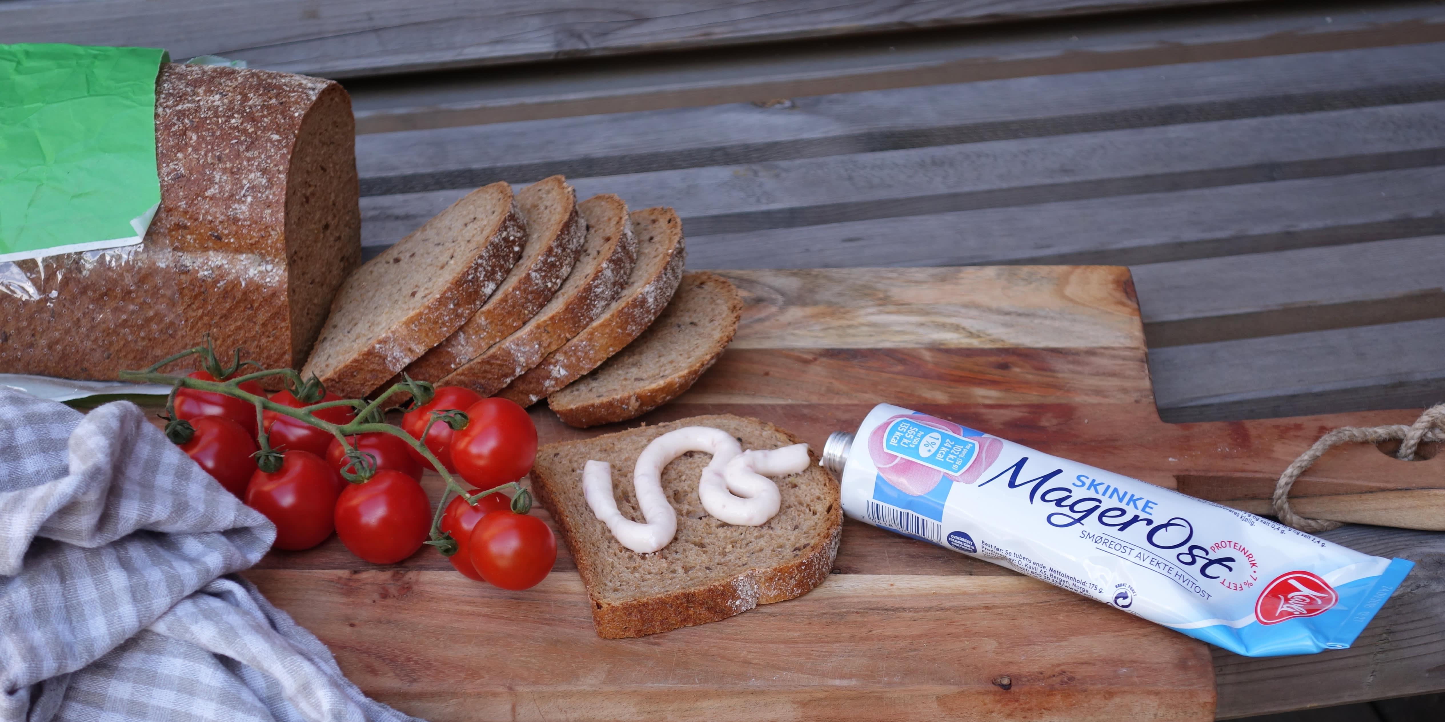 Kavli MagerOst er en klassiker på matpakken. Sunt og godt!