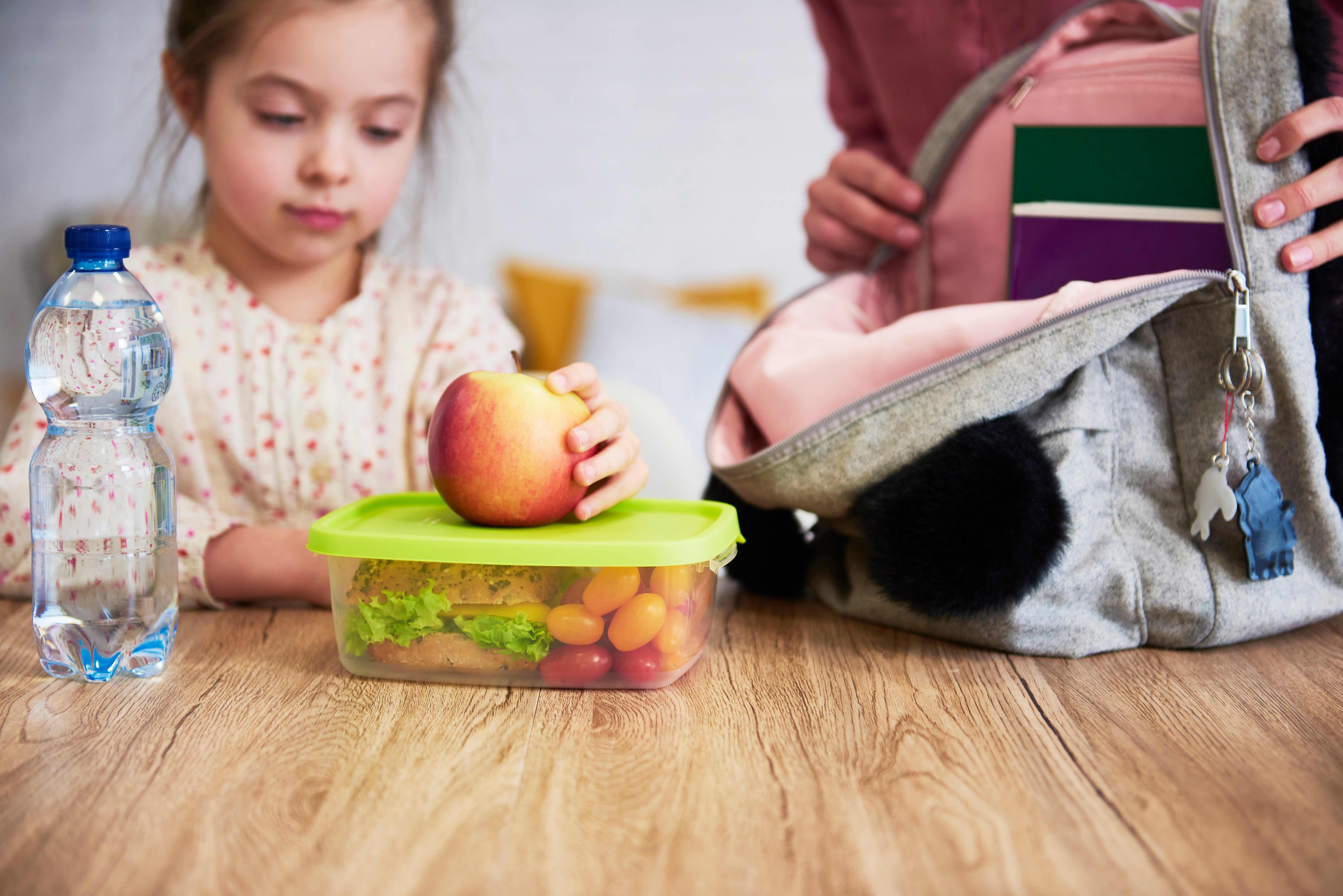 En god og sunn matpakke er viktig for barn i vekst.