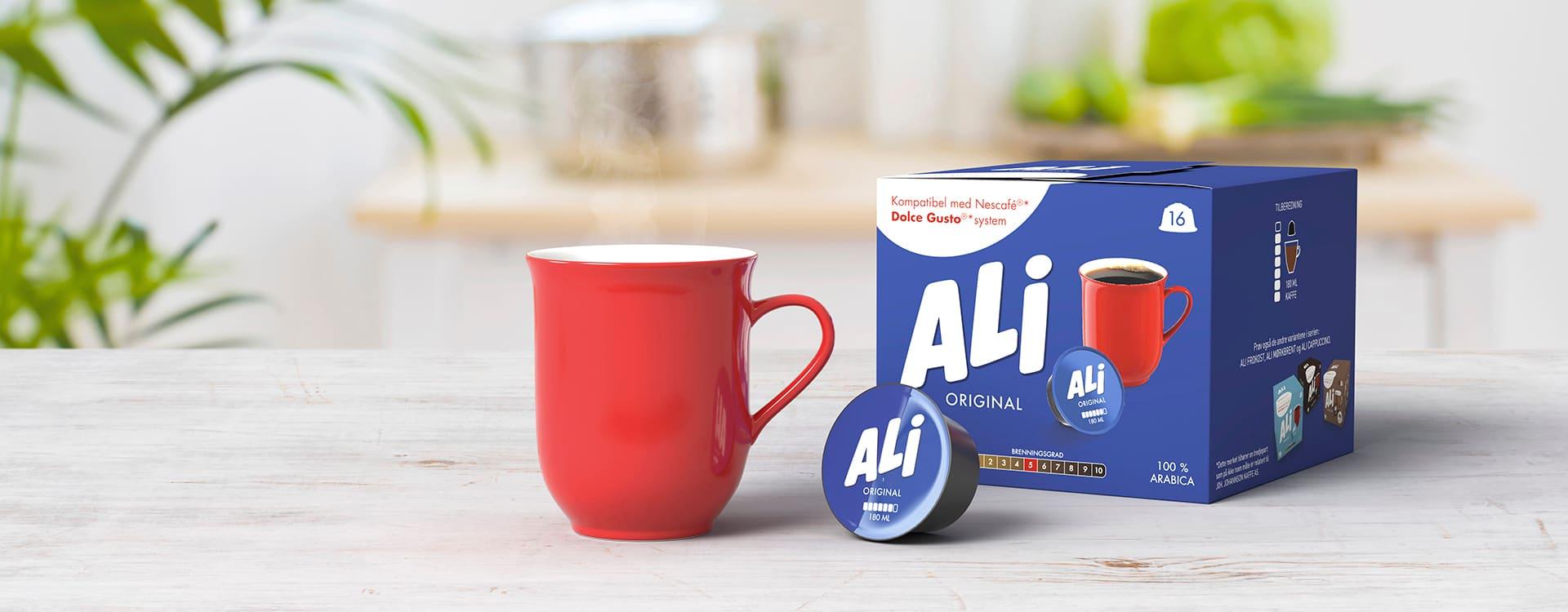 ALI Original kaffekapsler.