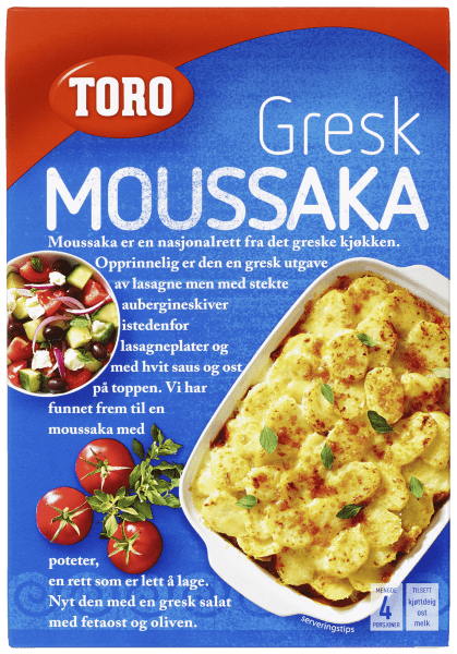 TORO Gresk moussaka