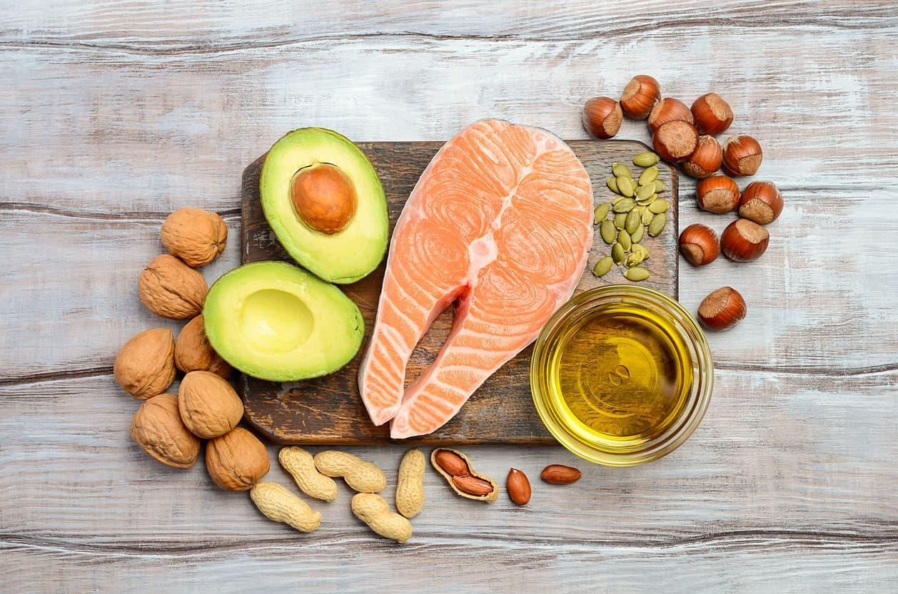 Andre eksempler på sunne og gode kilder til det sunne fettet.