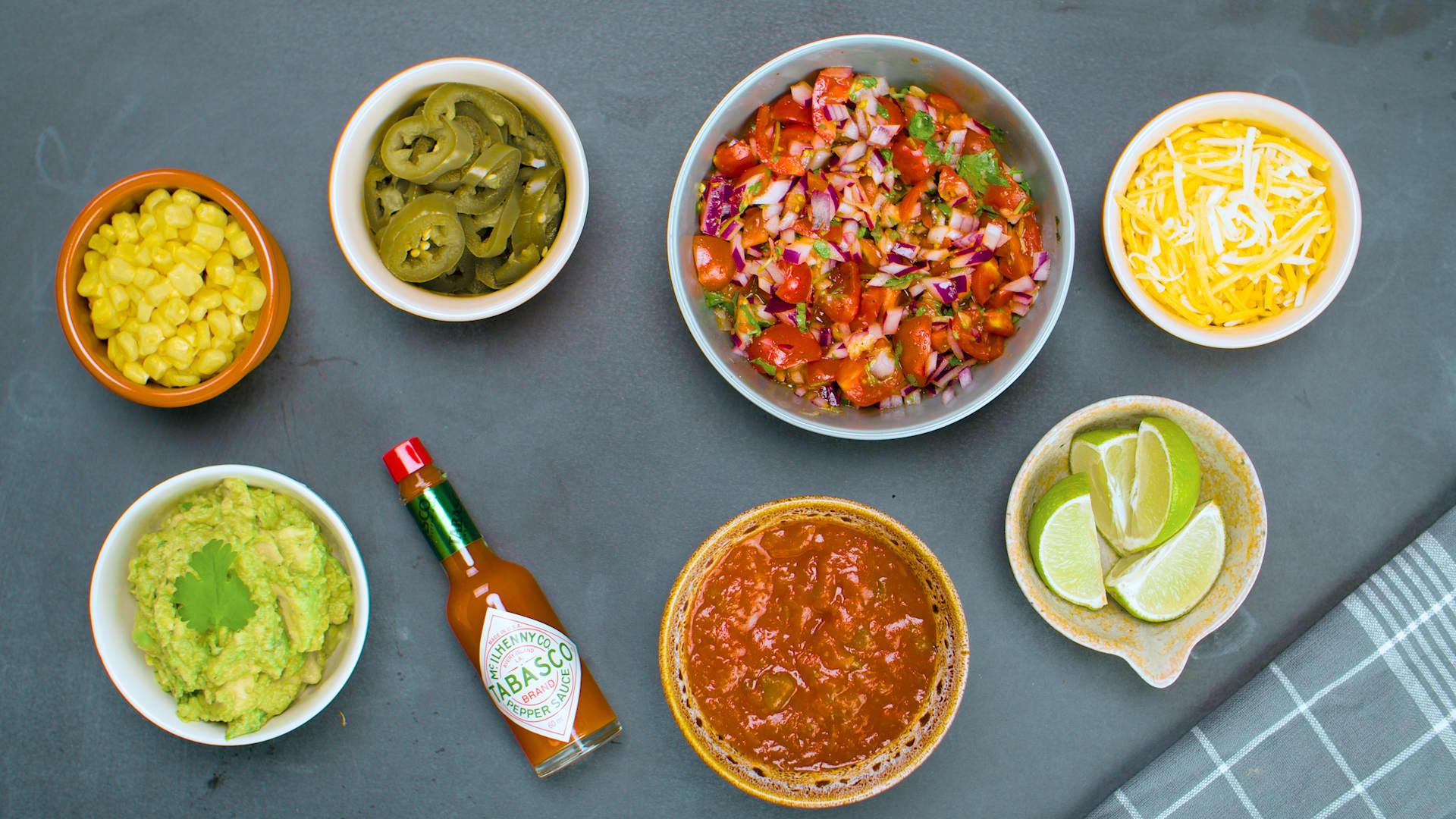 Visste du at TABASCO smaker utmerker i taco og texmex?