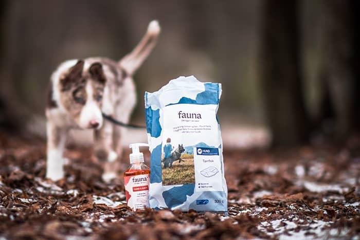 Utvalget av dyremat fra Fauna kan variere fra butikk til butikk