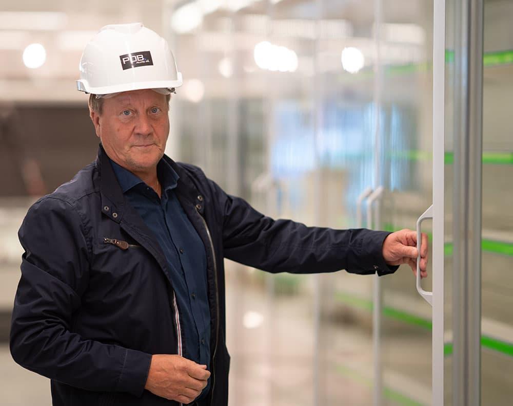 – KIWI har som mål å bli klimanøytrale, sier butikkutviklingssjef i KIWI, Jan Eilif Johansen