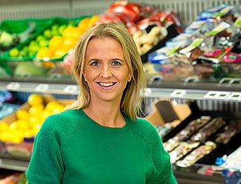 Kommunikasjonssjef i KIWI, Kristine Aakvaag Arvin.