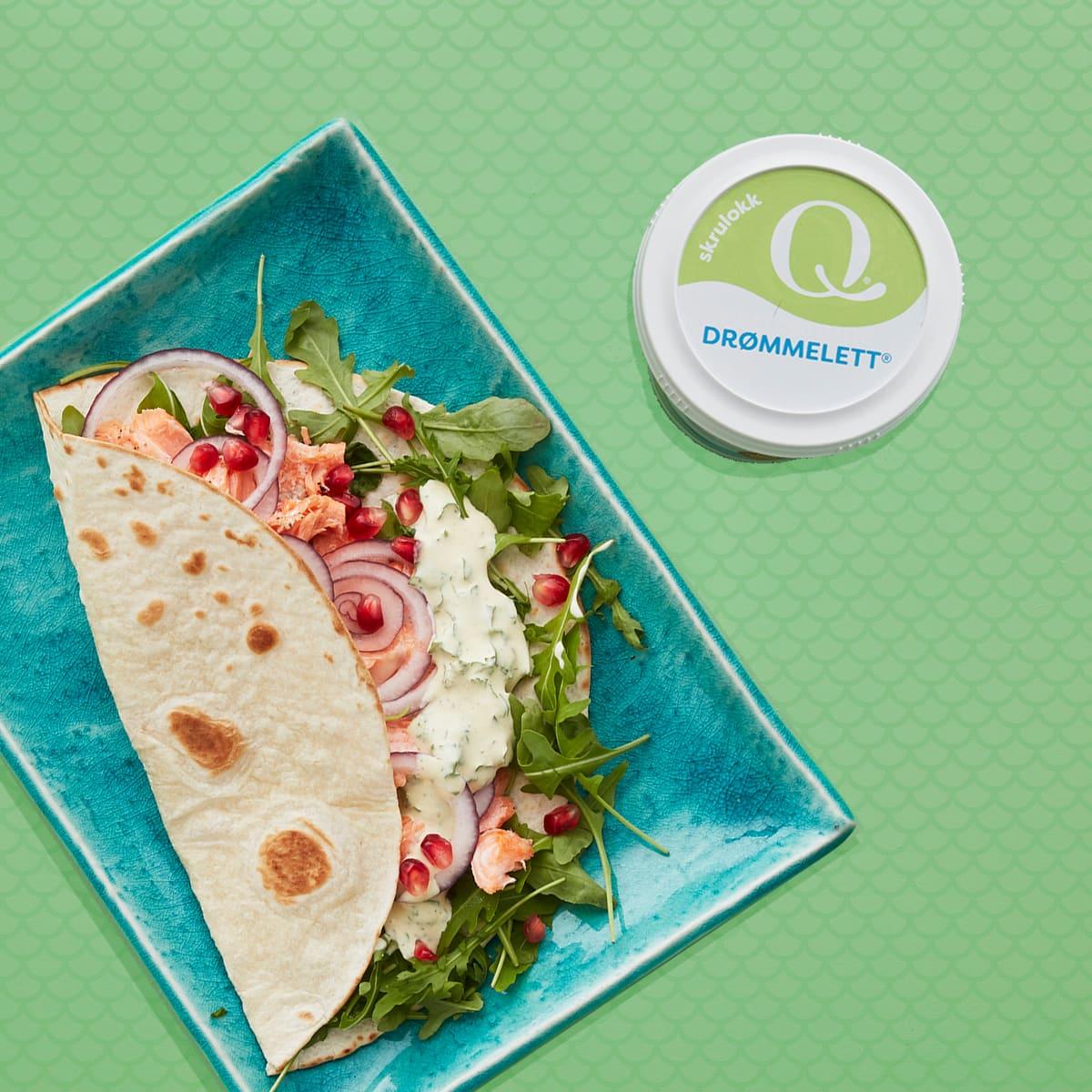 Q Drømmelett ® er laget av lettmelk og inneholder derfor kun 5 prosent fett. Bruk den til middagen så får du i deg både jod, kalsium og proteiner.