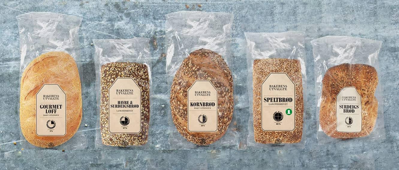 Bakerens utvalgte er en serie med premium brød som selges i alle KIWI-butikker, med unntak av Nord-Norge