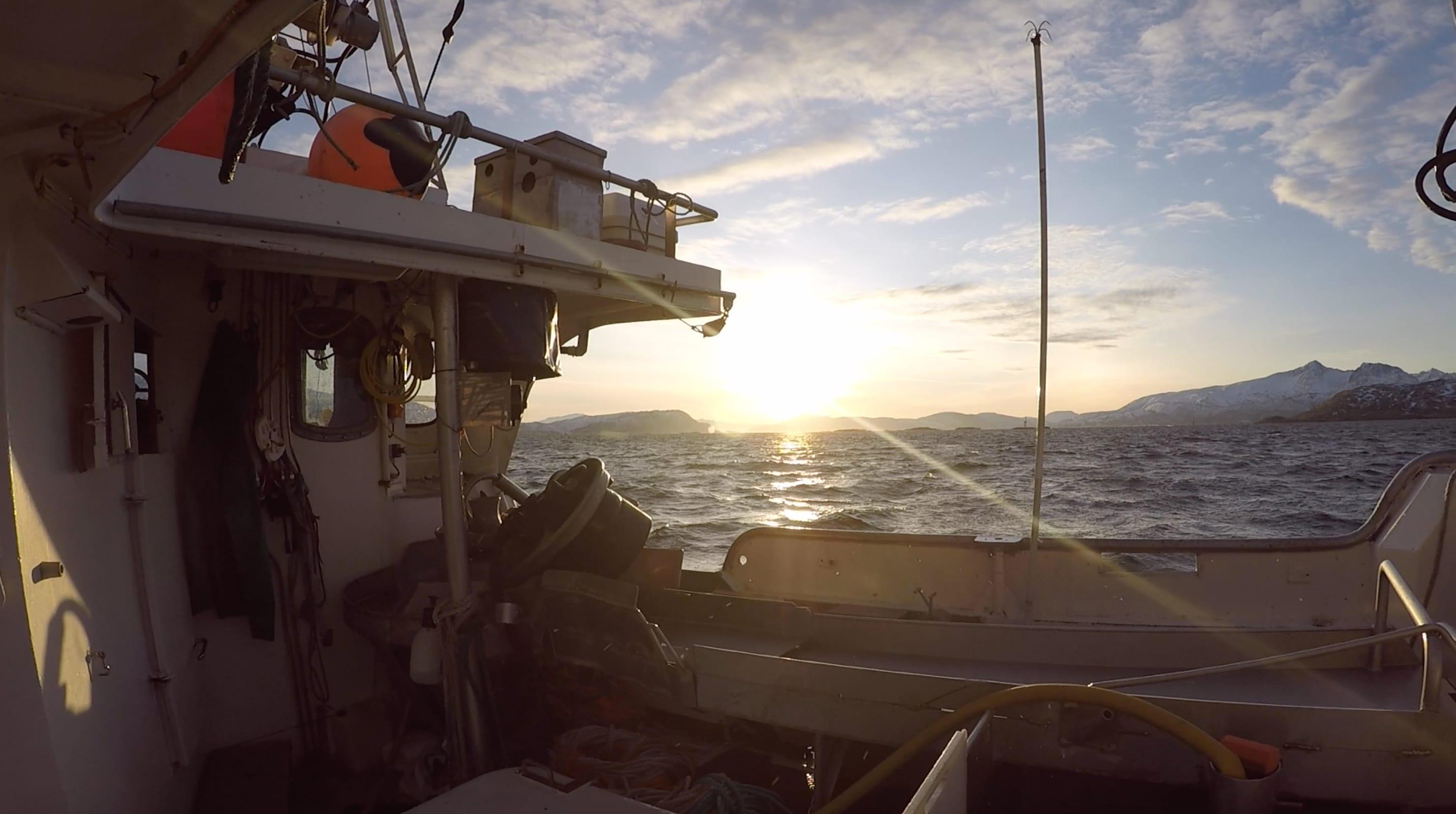 Når lyset melder seg, er det enkelt å forstå hva fiskerne snakker om.