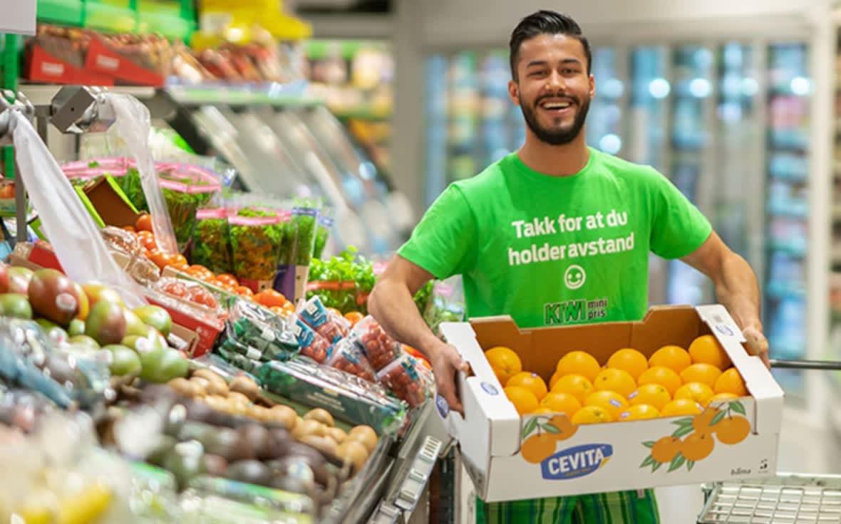 Folk ønsker å spise sunnere, og det vil KIWI hjelpe dem med.