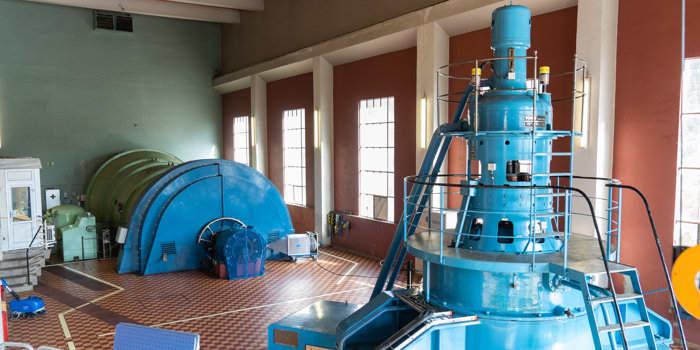KIWI betaler for oppgraderingen av én av Hensfoss kraftverks' turbiner.