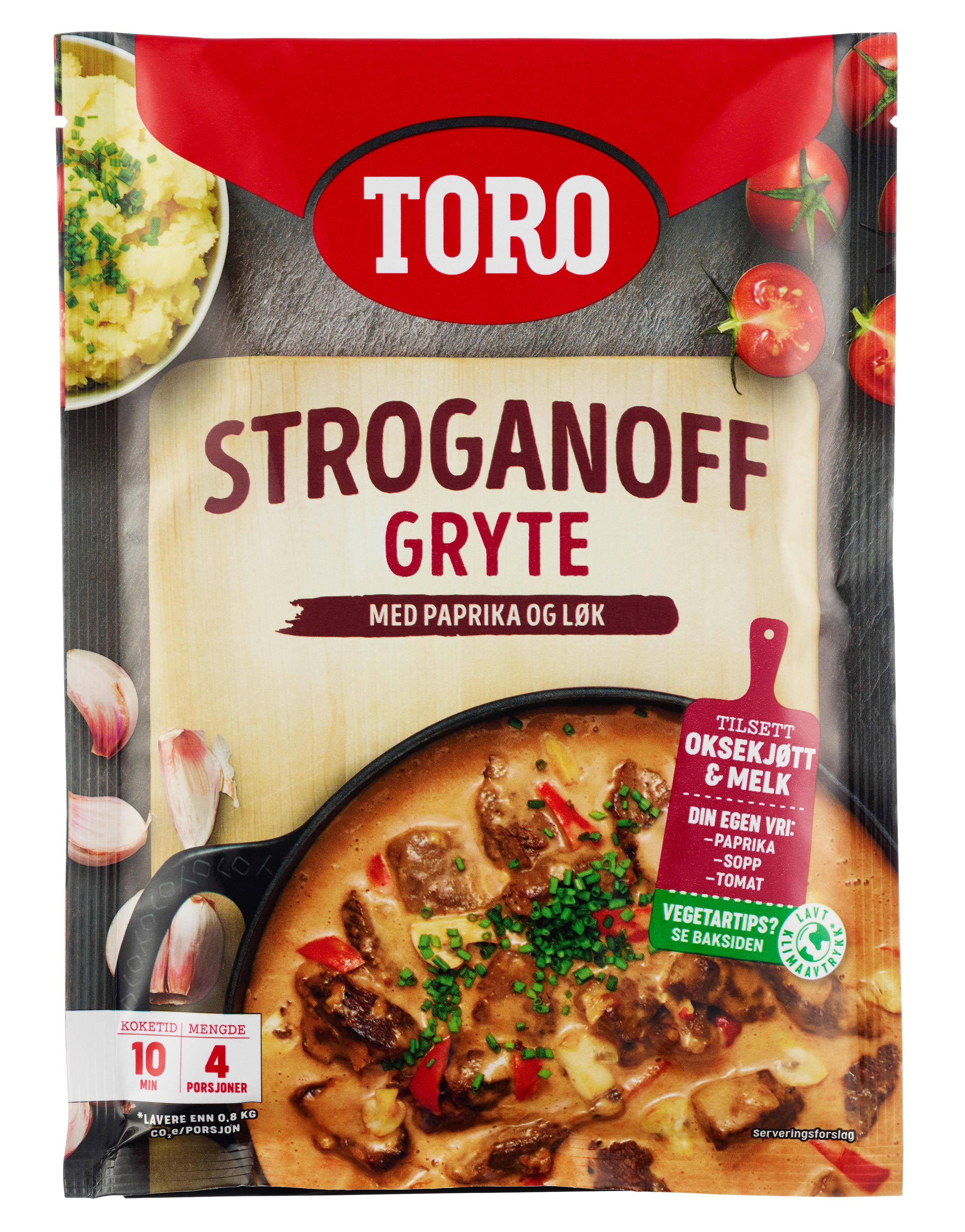 TORO Stroganoff gryte