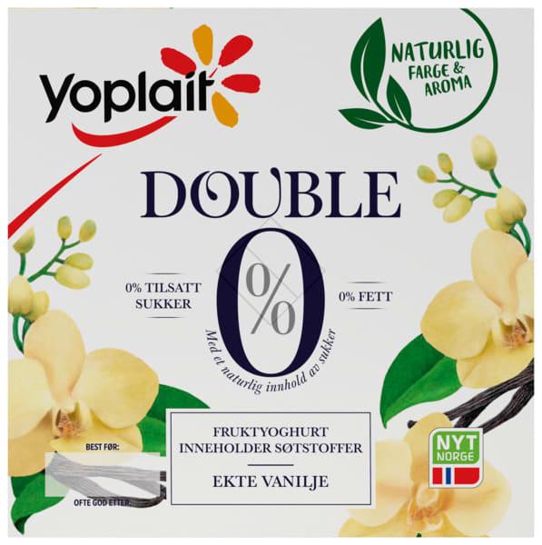 Yoplait Double 0% vanilje