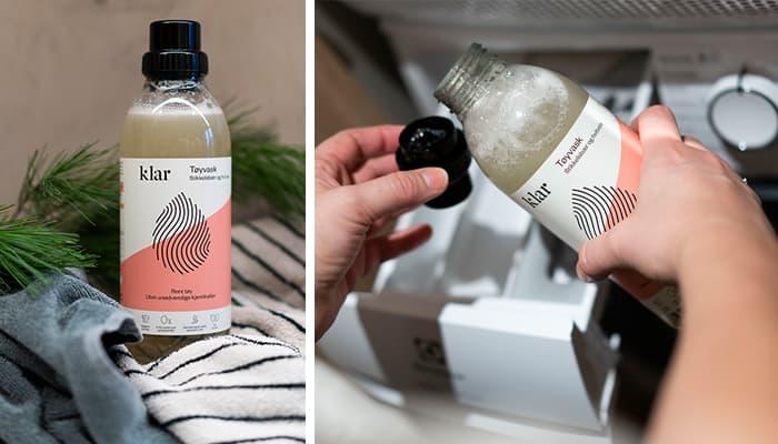 Klar rengjøringsmidler er en norskutviklet serie med nordiske dufter.