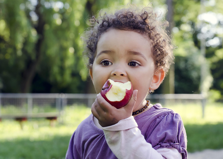 Frukt til barna