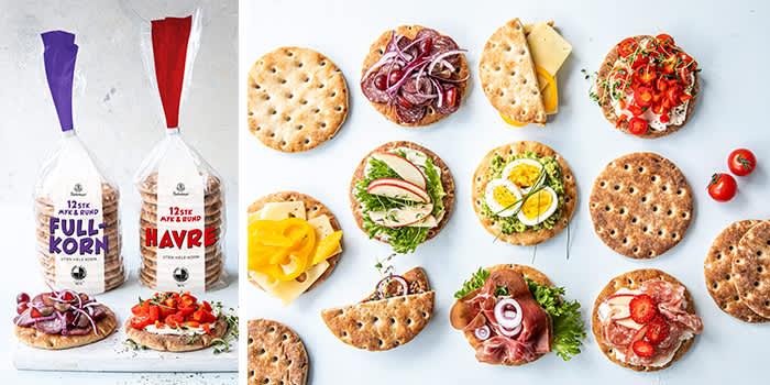 Bakehuset Myk & Rund er en god nyhet som er enkel å lage og passer godt i matpakken.
